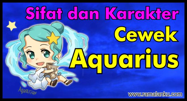 Mengenal Karakter dan Sifat Cewek Aquarius