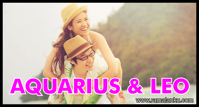 Kecocokan Zodiak Aquarius dan Leo
