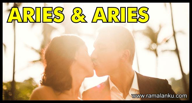 Kecocokan Zodiak Aries dan Aries