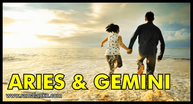Kecocokan Zodiak Gemini dan Aries