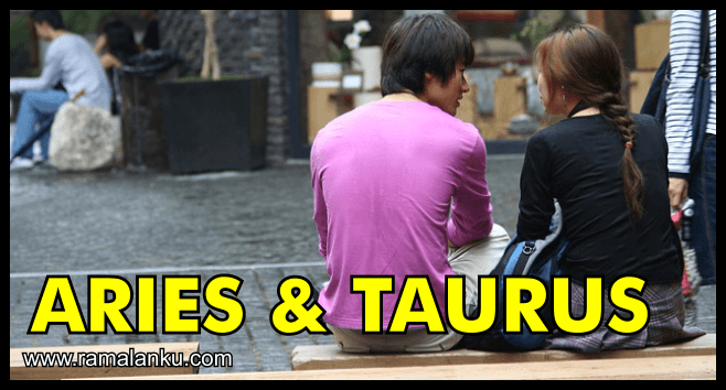 Kecocokan Zodiak Aries dan Taurus