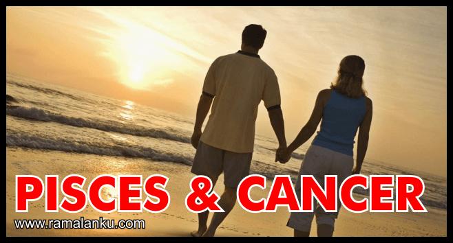 Kecocokan Zodiak Pisces dan Cancer