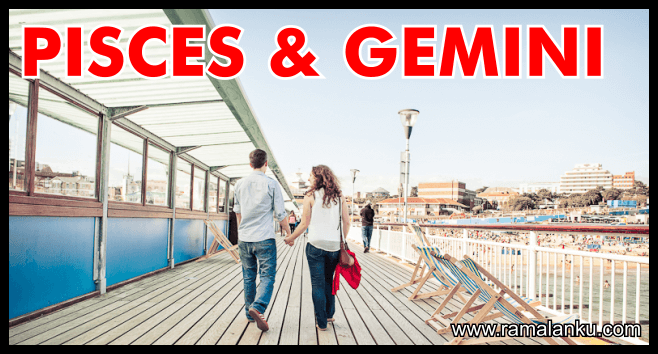Kecocokan Zodiak Pisces dan Gemini