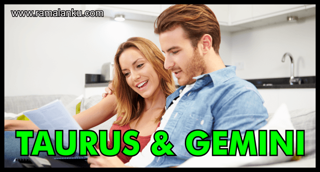 Kecocokan Zodiak Taurus dan Gemini