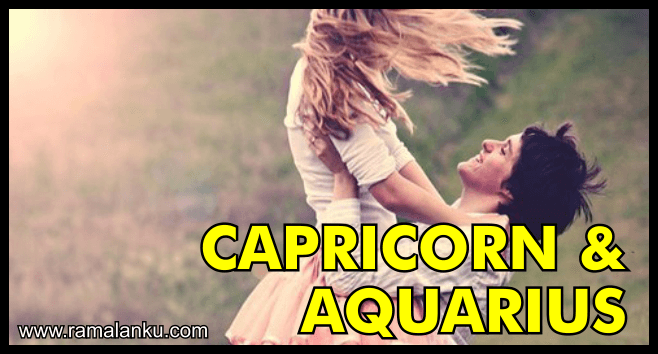 Kecocokan Zodiak Capricorn dan Aquarius