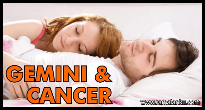 Kecocokan Zodiak Cancer dan Gemini